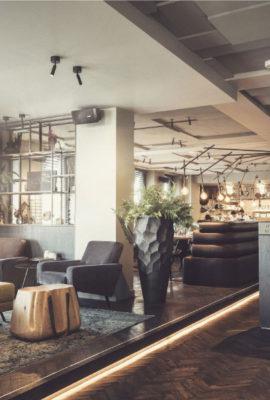 Inrichting restaurant Brandsøn