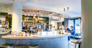 Bar bij Brandsøn brasserie Maastricht