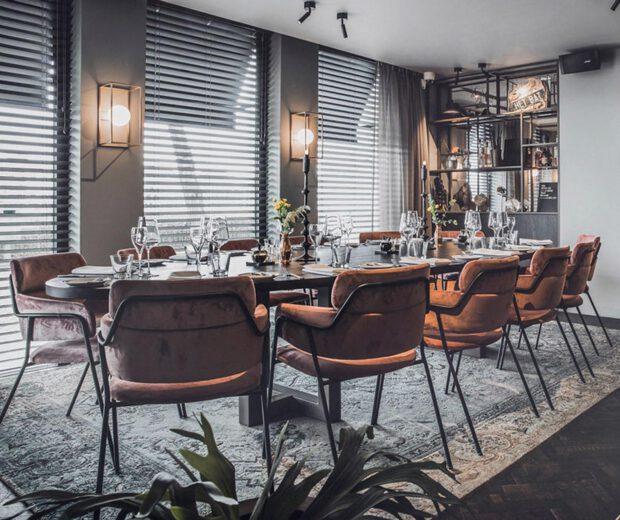 Tafel voor private dining