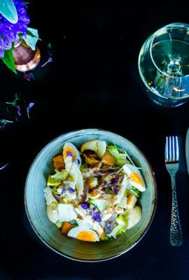 Lunchgerecht salade